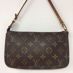 Preowned Authentic Louis Vuitton Pochette Bag